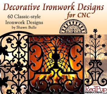Decorative Ironwork Designs for CNC
