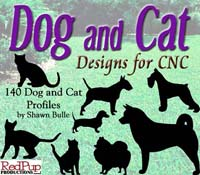 Dog and Cat Patterns for CNC