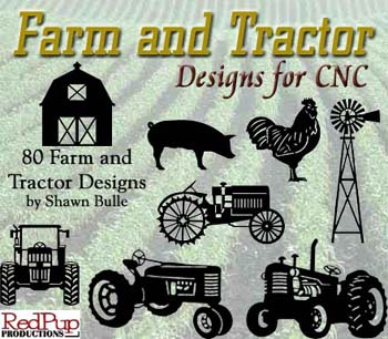 Farm and Tractor Designs for CNC