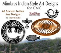 Mimbres Indian-Style Art Designs