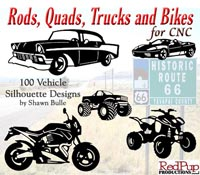 Rods, Quads, Trucks and Bikes for CNC