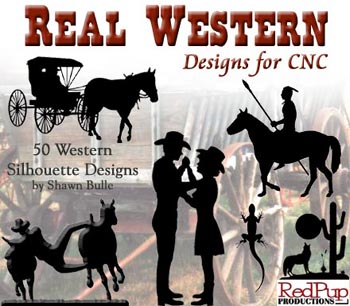 Real Western Designs for CNC