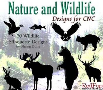 Nature and Wildlife Designs for CNC