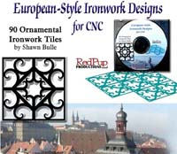 European-Style Ironwork Designs for CNC