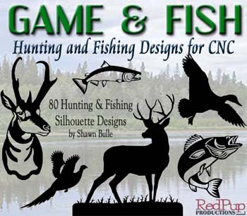 Game And Fish Designs For Cnc Plasma Cutting Systems